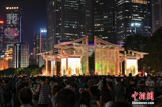 10th Guangzhou International Light Festival kicks off